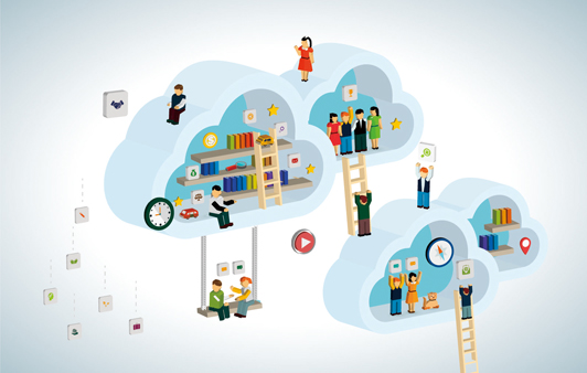 To move ahead fast in cloud computing, Go slow